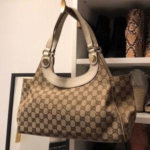 Gucci Monogram Charmy Medium Shoulder Bag